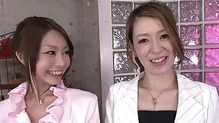 Thrilling 4some activity with 2 japanese ladies 2 anomalous studs sexvideo